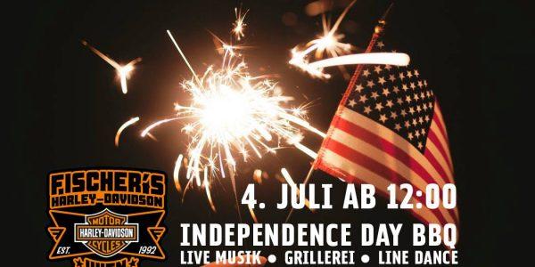 Independence Day BBQ 4. Juli 2018 ab 12 Uhr